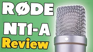 RØDE NT1-A Review +Soundbeispiel - Das Mikrofon für Let`s Player?