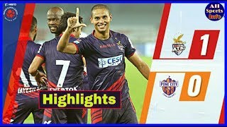 ISL 5 : Match - 33 || Atletico De Kolkata Vs Pune City FC Match Highlights And Analysis |
