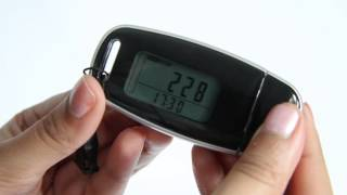 (1a) Being active with Activ8rlives - an introduction to the Buddy step counter EDIT