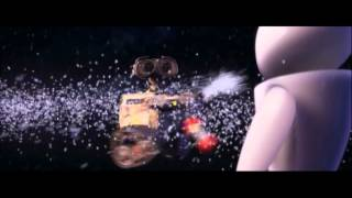 Wall-E and his fire extinguisher...