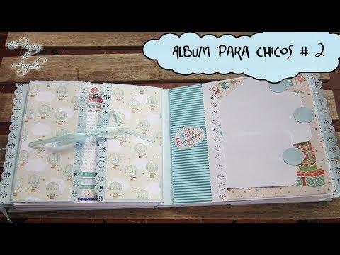Scrapbooking – Decoracion de album para chicos de scrap – Conideade #2