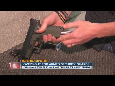 Oversight For Armed Security Guards