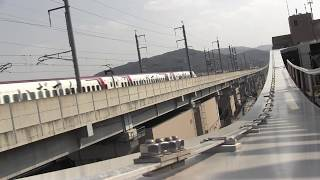 JR九州 九州新幹線  通過 『いだてんラッピング』