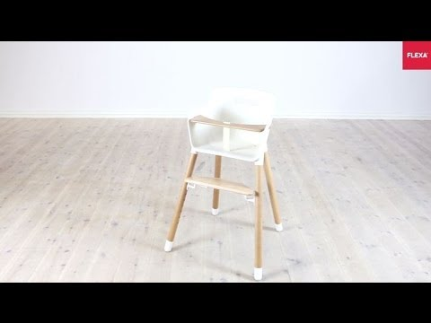 Flexa Baby High Chair Assembly Instruction Youtube
