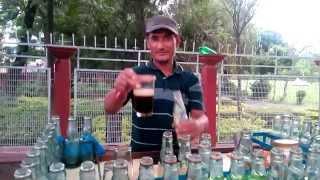 Soda seller in Nepal