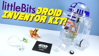 LittleBits Star Wars Mucit Seti Oyuncak Açılış Build & Review Droid