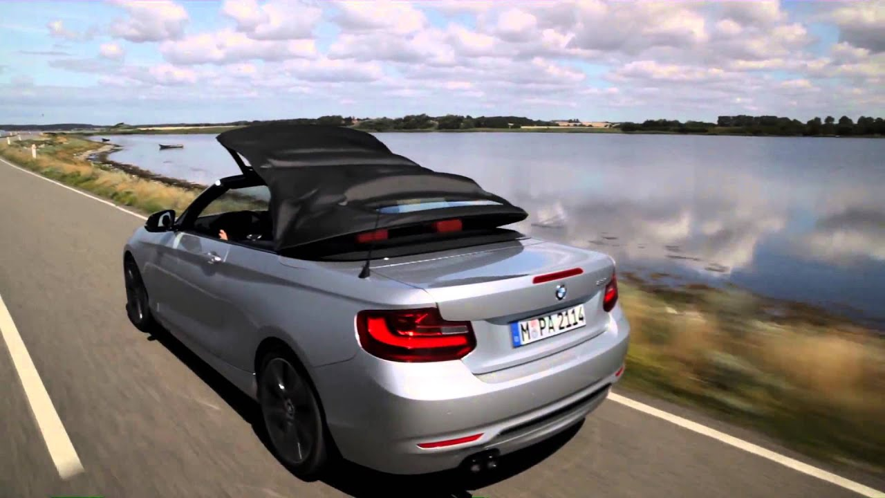 bmw 2er cabrio 2015 erste fahraufnahmen youtube. Black Bedroom Furniture Sets. Home Design Ideas
