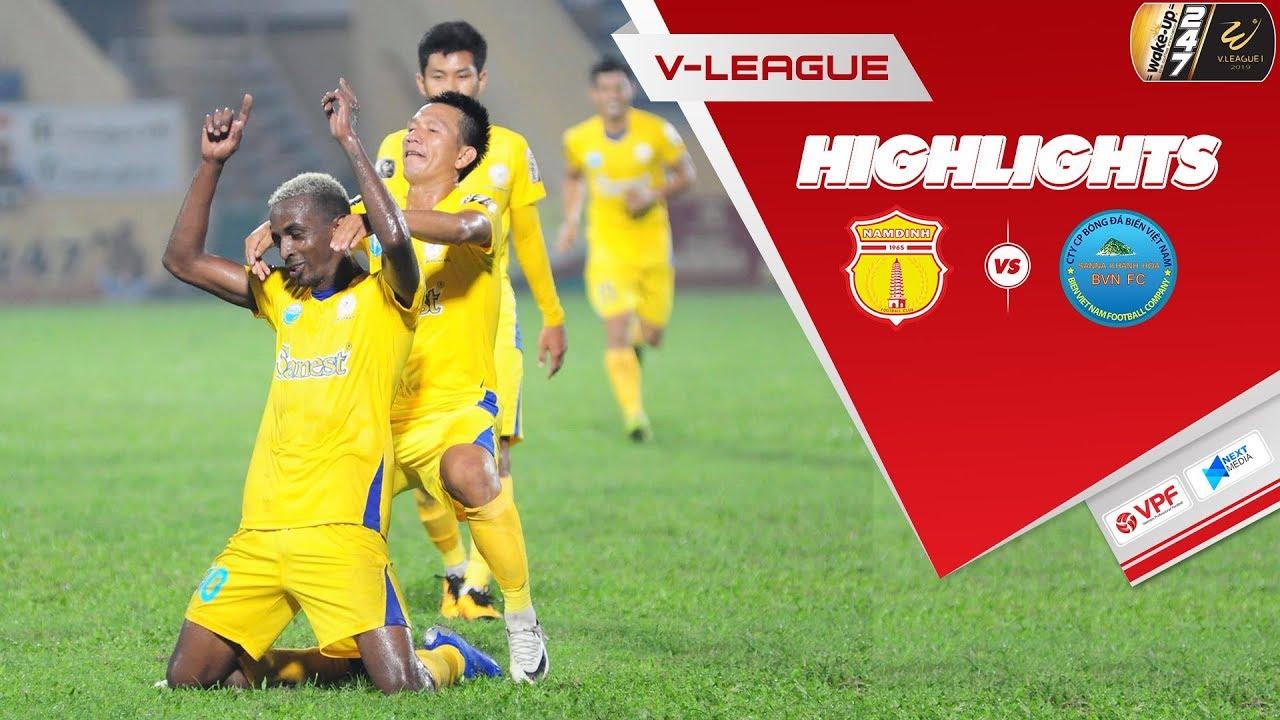 Video: Nam Định vs Sanna Khánh Hòa BVN