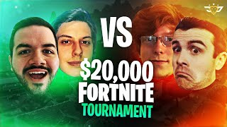 $20,000 FRIDAY FORTNITE TIEBREAKER!!! - With FaZe Cizzorz vs Dr. Lupo and Gingerpop!