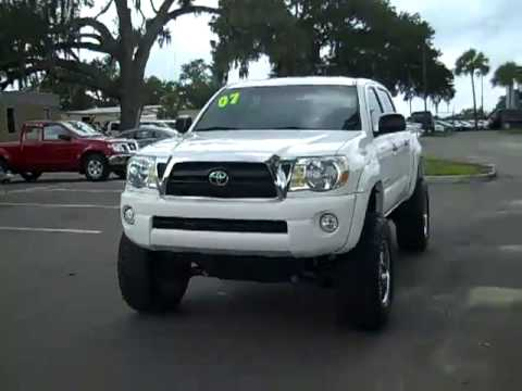 used Toyota Tacoma 4x4 Gainesville Fl call 18663712255