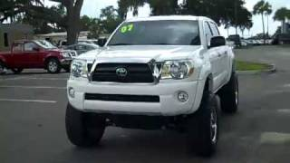 used Toyota Tacoma **4x4** Gainesville Fl call 1-866-371-2255