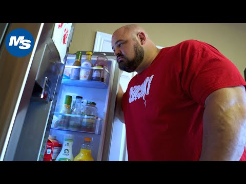 What Strongmen Eat for Breakfast | 4x WSM Brian Shaw's Morning Meal