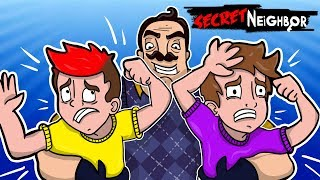 DORWANY PRZEZ OKROPNEGO SOMSIADA!? - SECRET NEIGHBOR /w Gilathiss, Juniorsky, Admiros