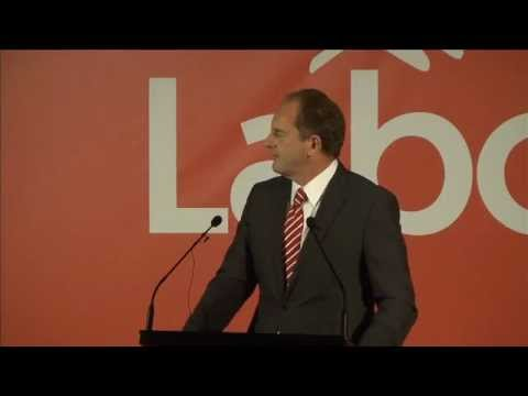 David Shearer - New Zealand: A new direction
