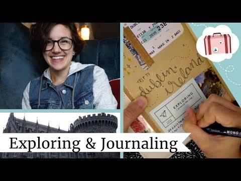 A Day Exploring Dublin | Traveler's Notebook Vlog | @laurenfairwx
