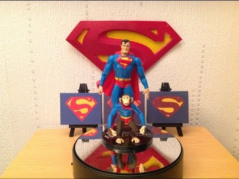 Classic Silver Age Superman Robot and Beppo Figure Review