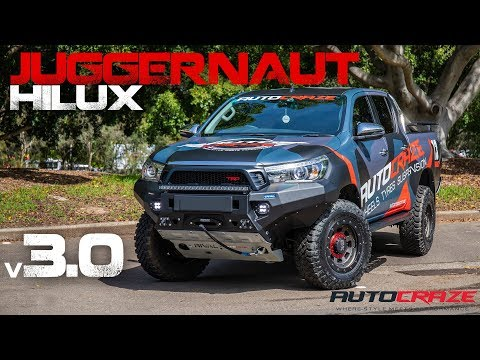 JUGGERNAUT HILUX V3.0 // Toyota Hilux Wheels, Tyres, Rival Bar, Roll R Cover,  Lift Kit & More