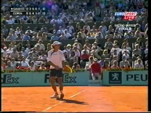 2004 Roland Garros Final G Gaudio vs G Coria ENG full match