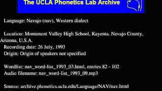 Navajo audio: nav_word-list_1993_09