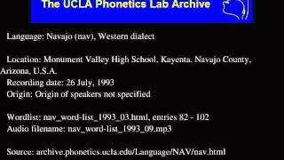 Navajo audio: nav_word-list_1993_09