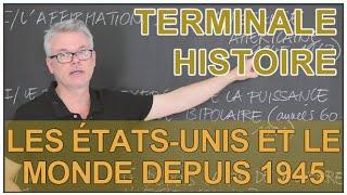 Les États-Unis et le monde depuis 1945 - Histoire-Géo - Terminale - Les Bons Profs thumbnail