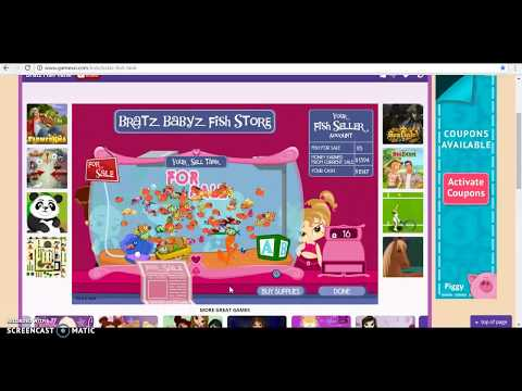 Bratz Fish Tank ~ Bonus Video ~ Selling 165 Fish!!