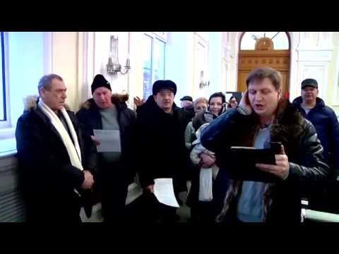 Флеш моб на Казанском вокзале! 30.12.16.