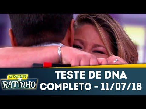 Teste de DNA - Completo | Programa do Ratinho (11/07/2018)