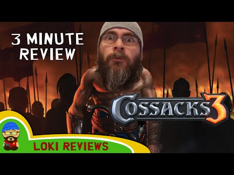 Cossacks 3 - The 3 Minute Game Review