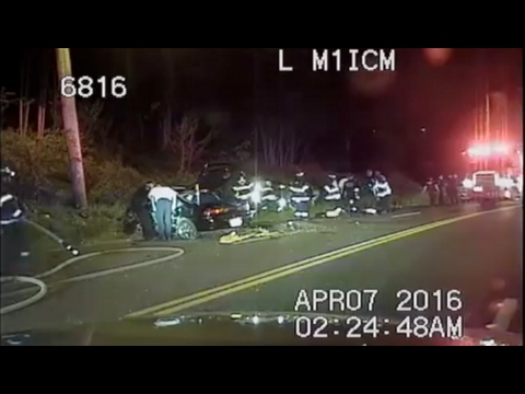 Police Chase Ends In Massive Crash