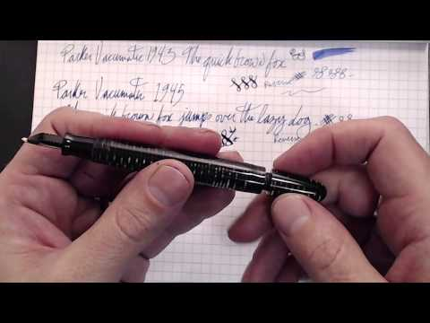 Vintage Parker Vacumatic Showcase