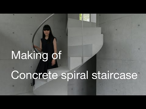 Making of The Simplest Concrete Spiral Staircase