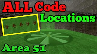Every Code Location Arrow Code Roblox Survive  Kill The Killers In Area 51