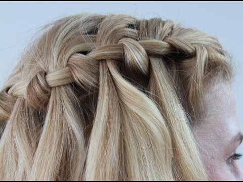 Easy Waterfall Braid Tutorial: Part 2