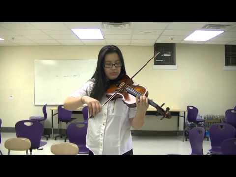 Jessie Marin, Violin, Scales