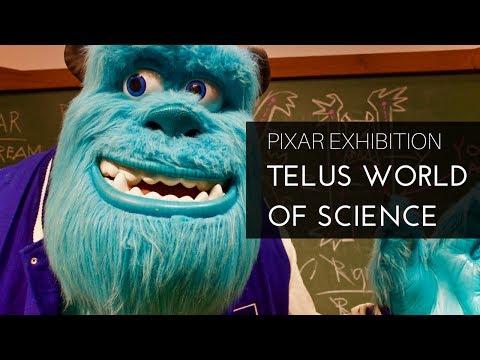 Pixar Exhibition at Edmonton's TELUS World of Science