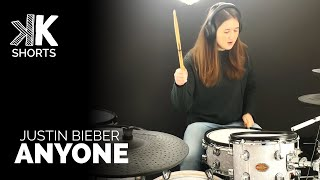 Anyone - Justin Bieber - #Shorts Drum Cover | TheKays