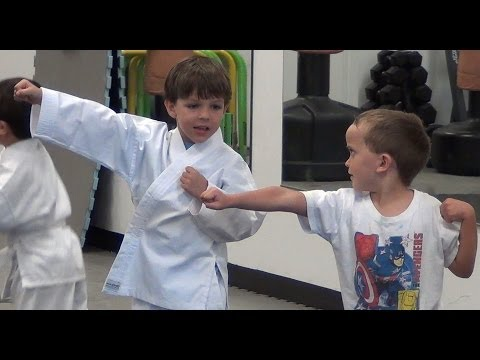 Karate 4 and 5 years old Coconut Creek Florida