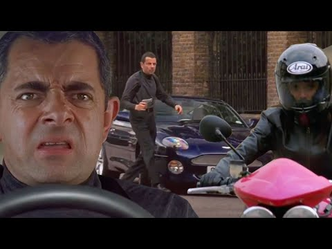 Car CHASE | Johnny English | Funny Clips | Mr Bean Official | Mr Bean