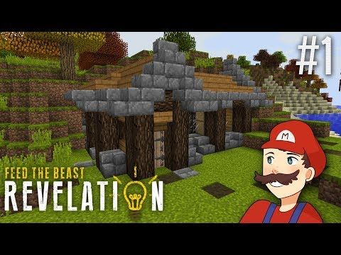 Download : Minecraft FTB Revelation SMP 1: Autumn House +