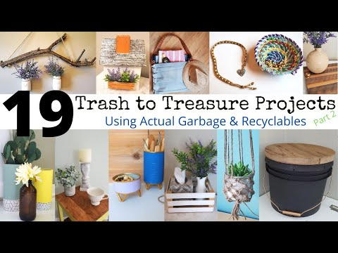 19-trash-to-treasure-projects-|-home-decor-using-garbage-|-recycle-re-purpose-diy-up-cycle-no-waste