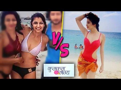 Kumkum Bhagya Actress In SEXY BIKINI | Pragya v/s Tanu thumbnail