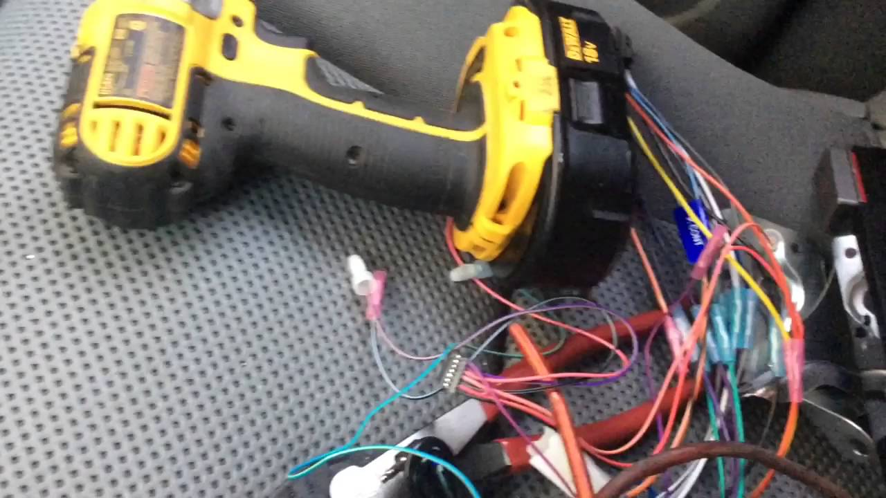2005 2010 Toyota Tacoma Kenwood Deck Install Youtube Ddx512 Wire Harness