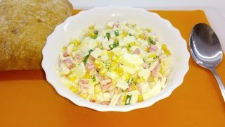 EasyChef: Салат из крабовых палочек