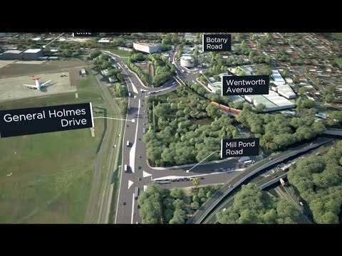 Sydney Airport Road Upgrades