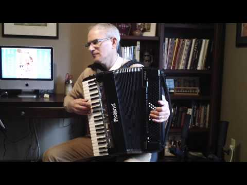 Marcelle and Marcel on Roland Fr-8x Accordion