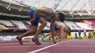 Men's 100m T37 | Round 1 Heat 1 | London 2017 World Para Athletics Championships
