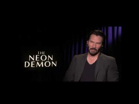 THE NEON DEMON interview w/Keanu Reeves
