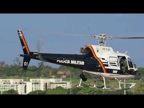 AS 350 B2 / PP-FSP / PMDF-DF / FÊNIX 01 (Federal District Military Police) #V29
