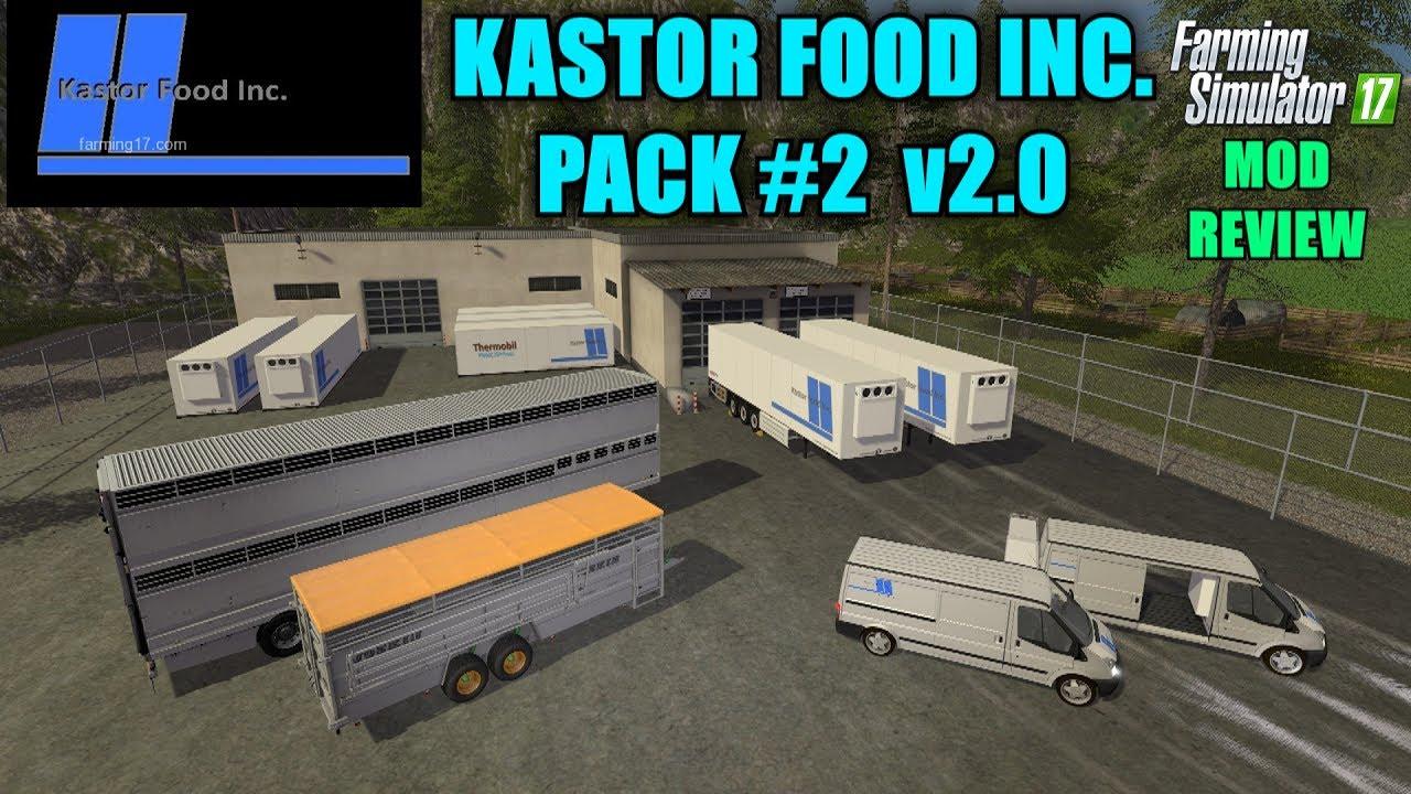 Fs17 Kastor Food Inc Pack 2 V2 0 0 0 Quot Mod Review